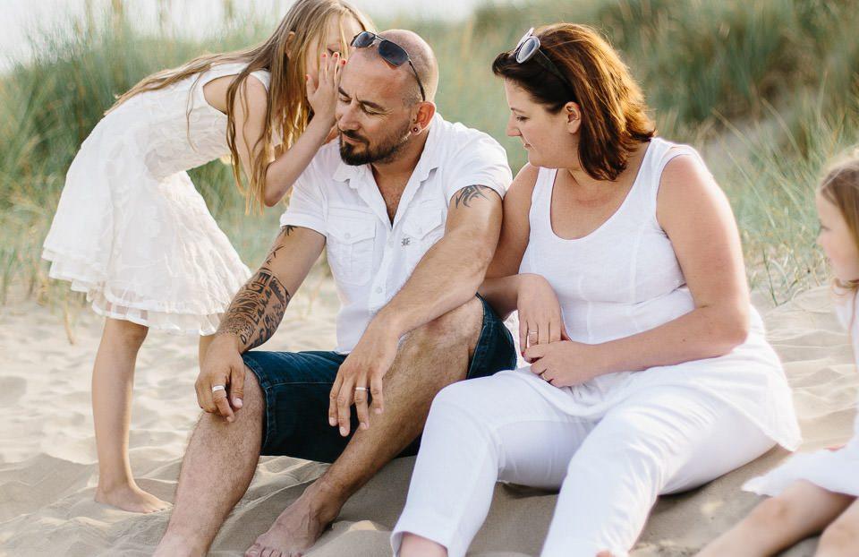 Photos de famille à la plage – Nieuport