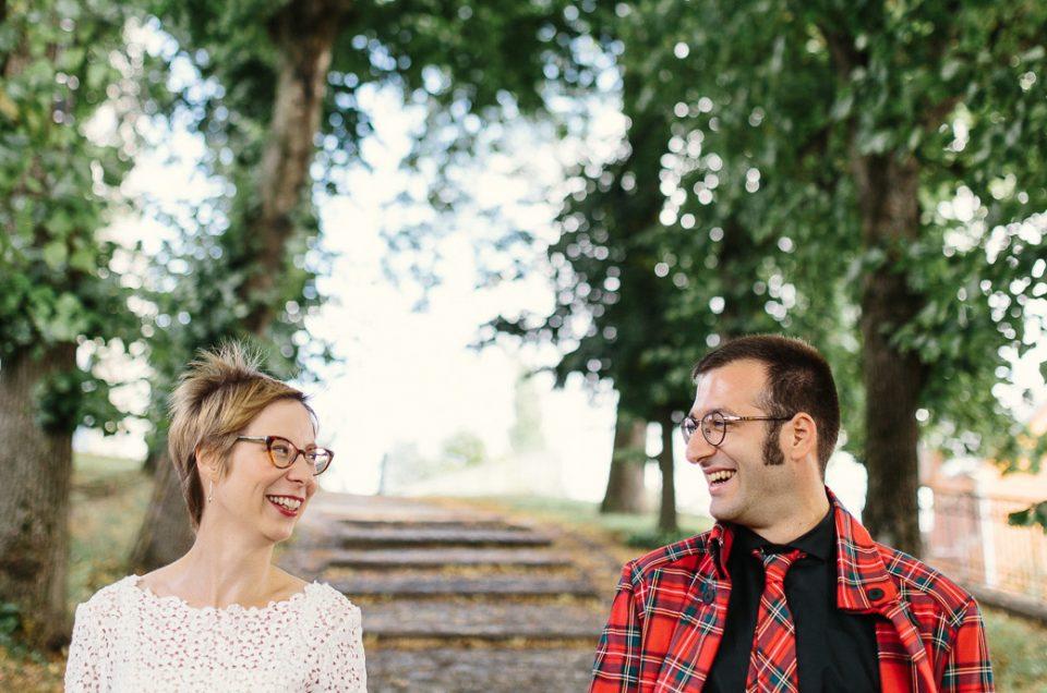 Mariage Retro – Maryse + Fred
