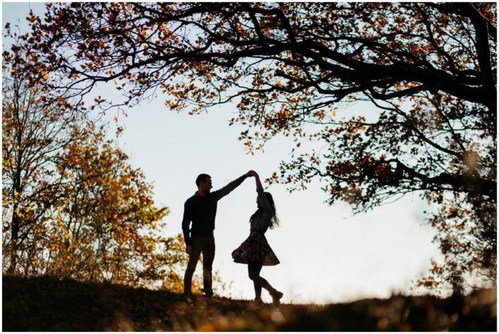 Séance engagement, Automne, Love Session, Photographe mariage Liège, Couple, Amour, Love, Sunset