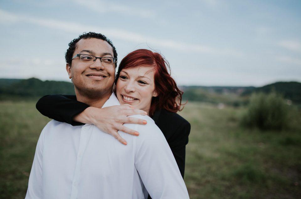 Deux amoureux sur un terril – Love Session Jess & Nelson