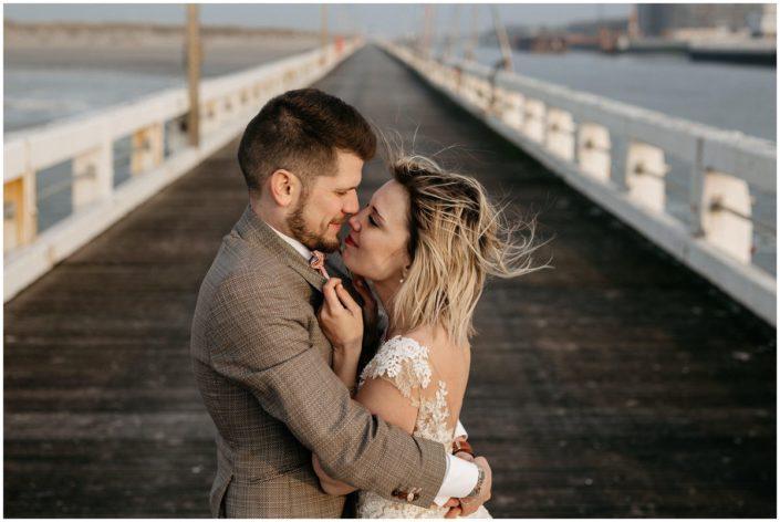 photo mariage mer plage
