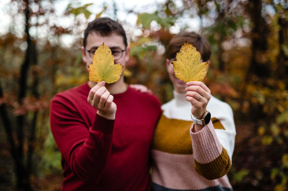 séance engagement automnale mariage fagnes automne berinzenne